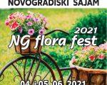 NG FLORA FEST – Izložba i prodaja cvijeća, poljoprivrednih proizvoda i rukotvorina obrtništva i poduzetništva, 04. – 05. lipanj 2021. godine